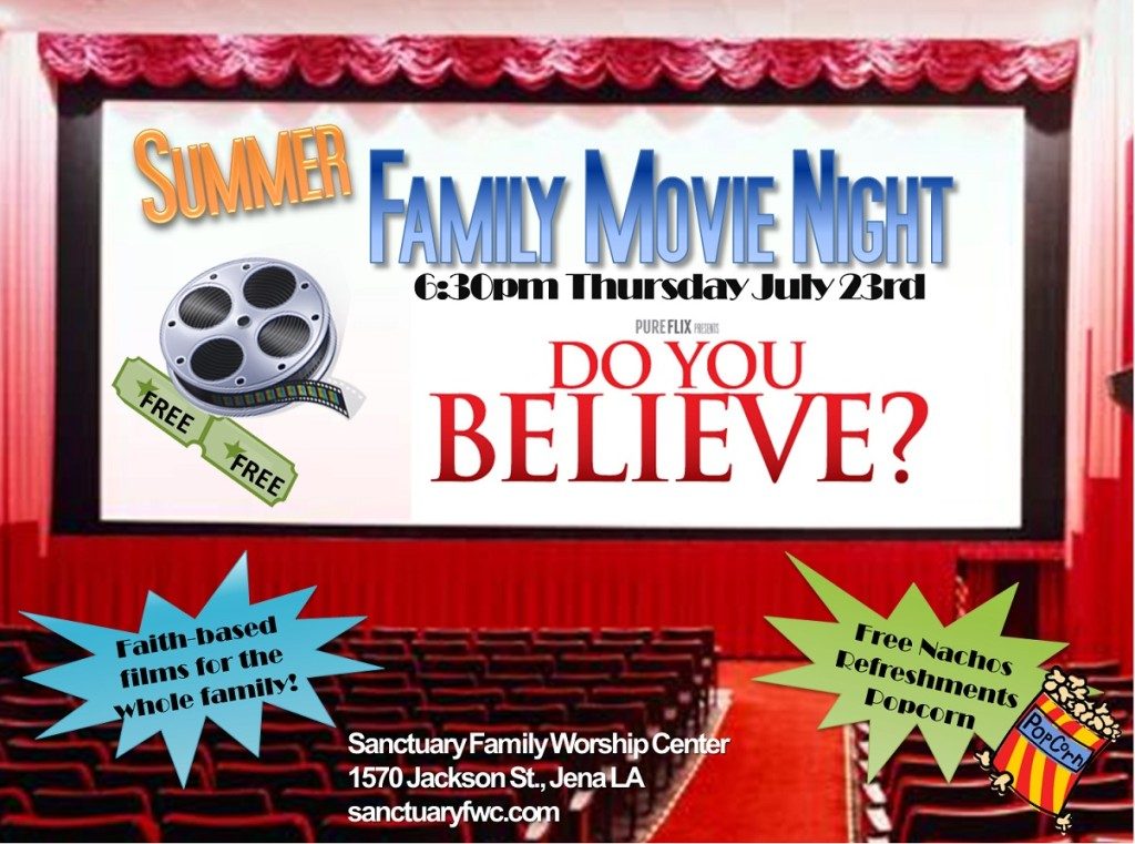 Family Movie Night 2015.2
