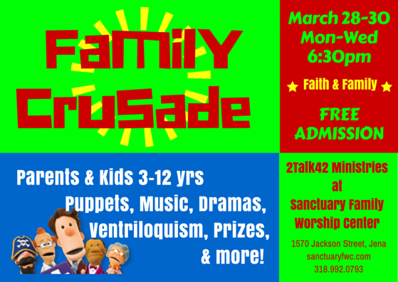 Family Crusade 2016